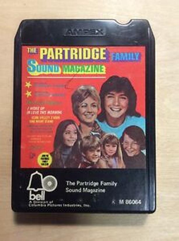 Partridge Family 8-track