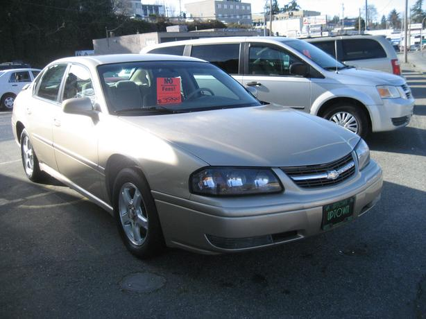 "2005 Chevy Impala ""LS"" Loaded with options- NO ACCIDENTS"