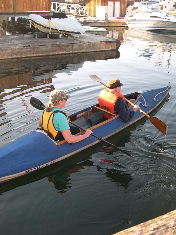  Log In needed $1,000 · Klepper double folding kayak