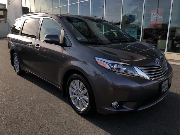2017 Toyota Sienna XLE AWD 7 Passenger No Accidents Local Island