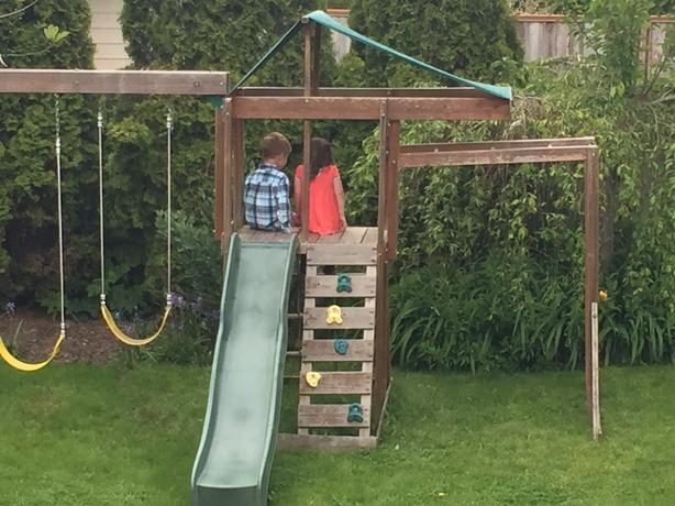 Log In Needed 50 Kids Play Structure Swing Slide Mini House