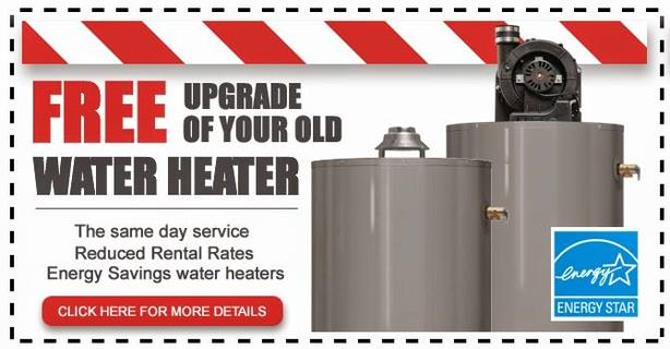 Hot Water Heater < Free Installation > Easy Rental > Call Now