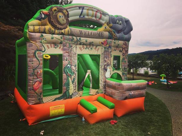 Bouncy castle rental all day