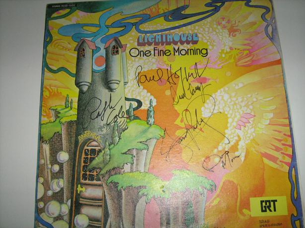 LIGHTHOUSE-ONE FINE MORNING-SIGNED