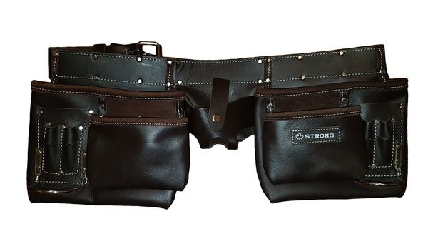 Brand New! heavy duty oil tanned leather tool belt