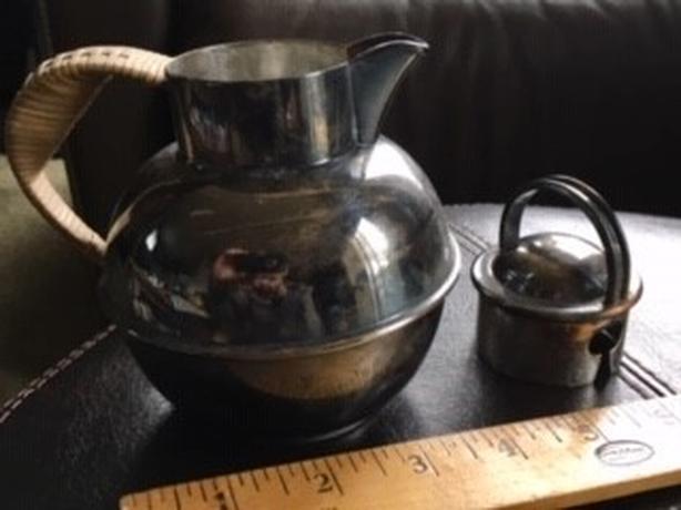E Webster Antique Teapot