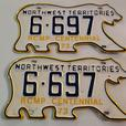 Buying old Canadian License Plates