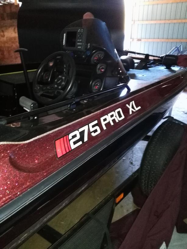 new price 1995 Statos 275 Pro XL bass boat