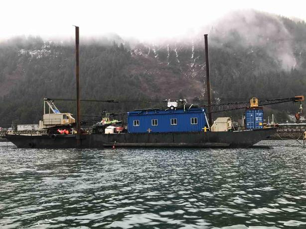 Northern Joon Barge Marine Construction Package For Sale