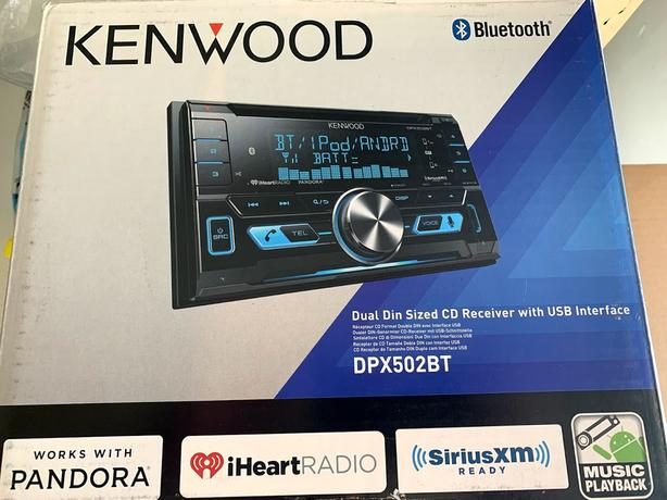 Used Kenwood CD Bluetooth Receiver USB double din West Shore