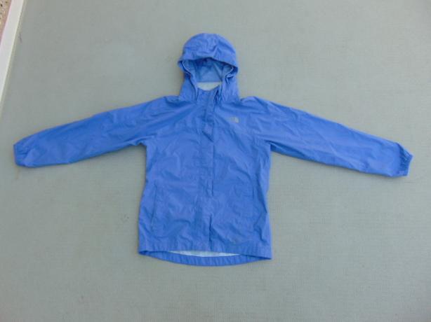 f1ab16fa7 Rain Coat Child Size 10-12 The North Face Periwinkle Purple Light ...