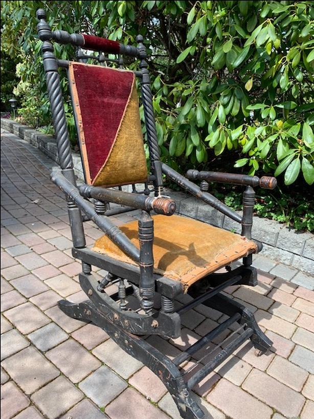 Awe Inspiring Log In Needed 100 Crazy Old 1800S Antique Rocking Chair Forskolin Free Trial Chair Design Images Forskolin Free Trialorg