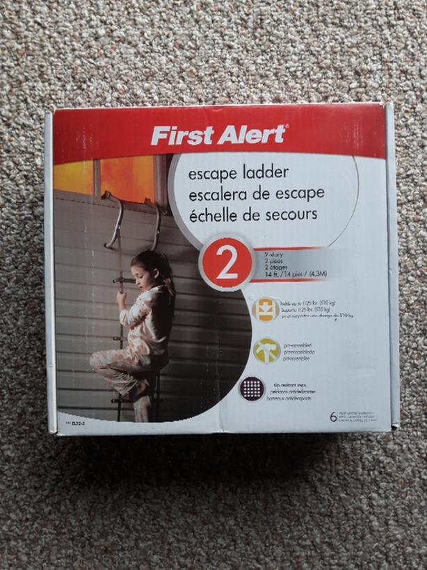 First Alert 14-ft Emergency Escape Ladder