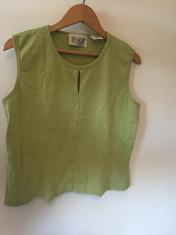 green tank top Womens Large