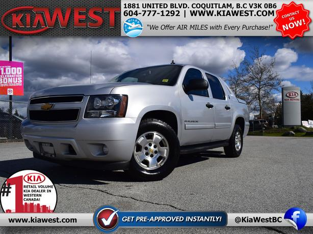 2013 Chevrolet Avalanche LS Black Diamond Crew Cab 5.3L V8 4X4