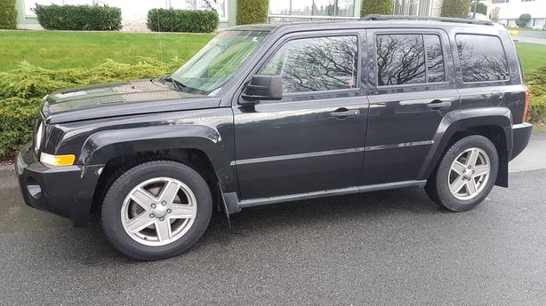 2008 JEEP PATRIOT 4X4 Outside Cowichan Valley, Cowichan