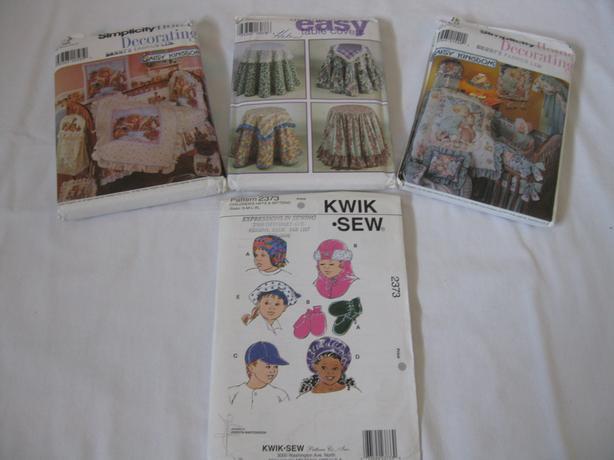 Assorted Crib Bedding Patterns