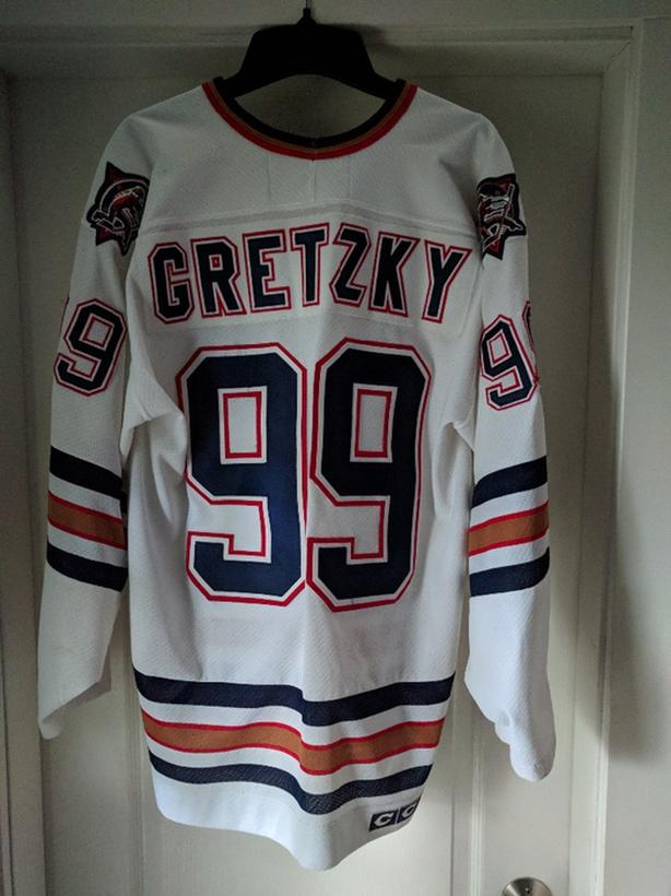 Edmonton Oilers Wayne Gretzky Jersey