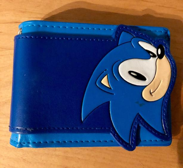 New Sonic The Hedgehog Wallet West Shore Langford Colwood Metchosin Highlands Victoria Mobile