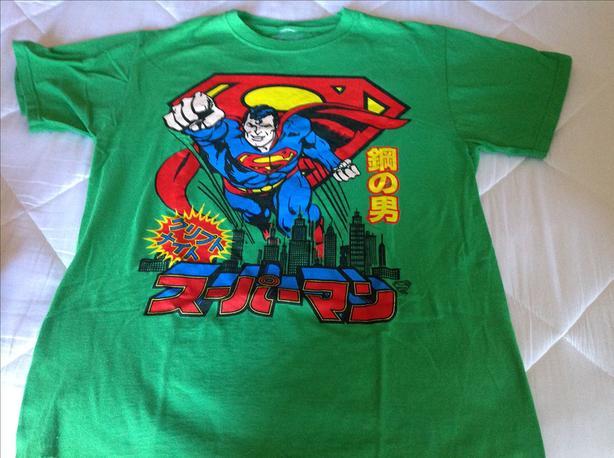 Adult Medium Superman T-Shirt