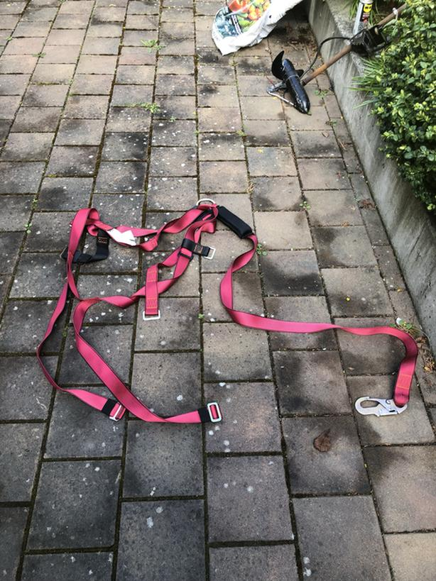 Roofers harness in excellent condition