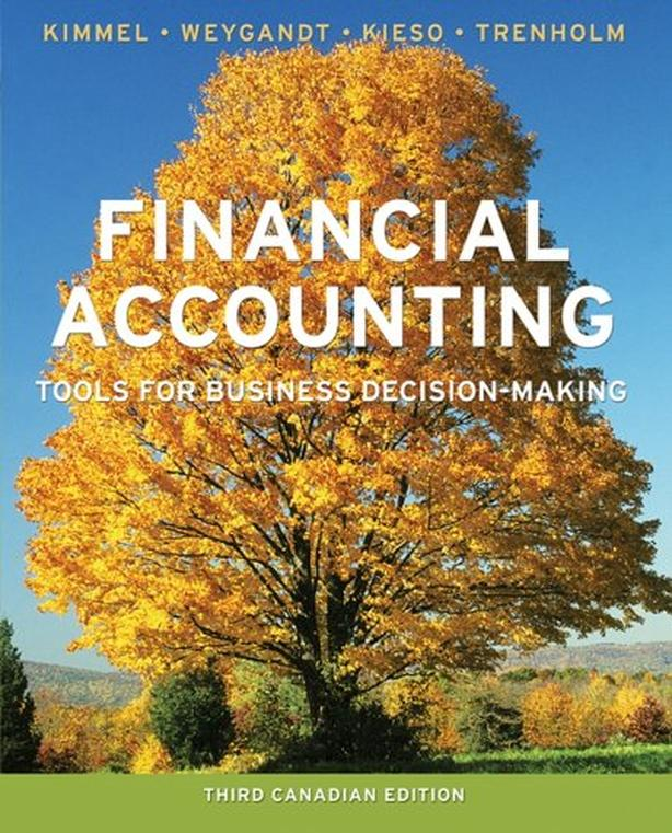 Financial Accounting – 3rd Canadian Edition