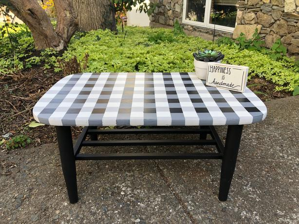 Small coffee table or foot stool