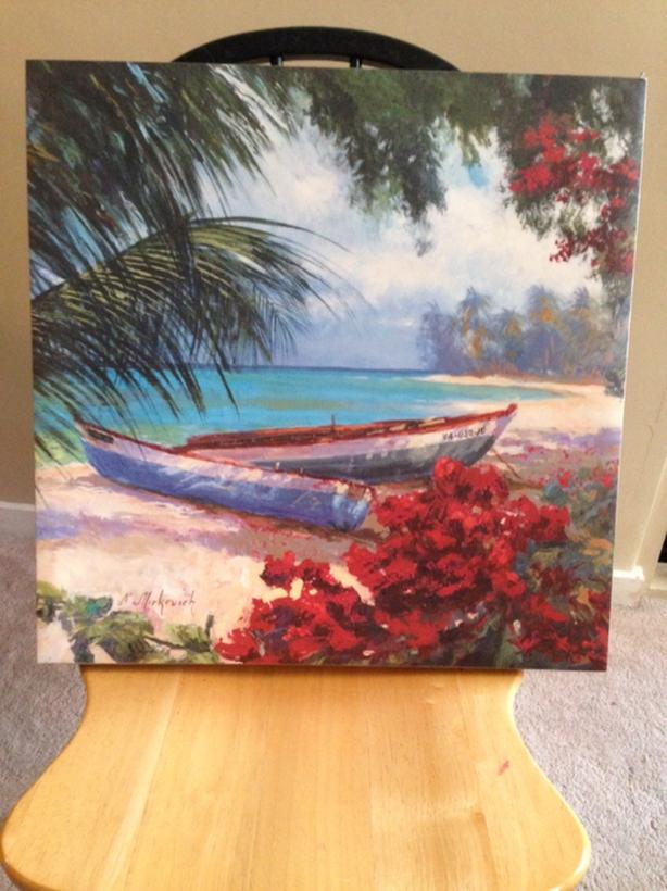 Beach Canvis Print