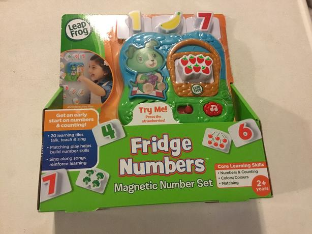 Leap Frog Fridge Numbers - NEW