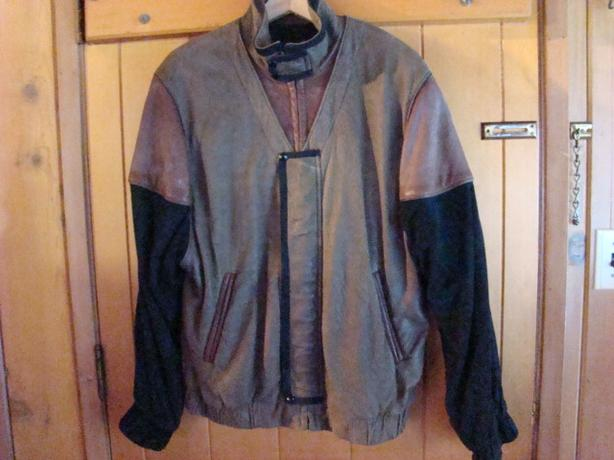 Mens Suede and Leather Jacket