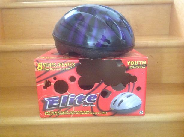 Youth bike helmet