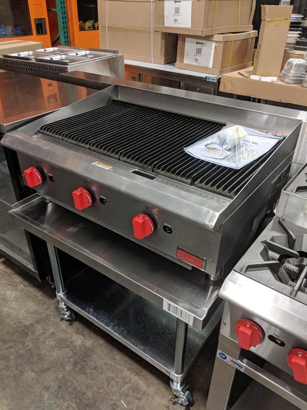 Floor Model Restaurant Equipment Liquidation – Charbroilers