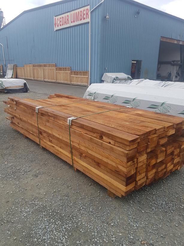 Rough Cedar 2x8 Utility