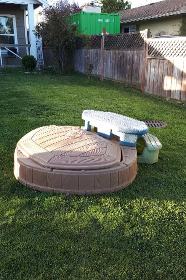 Free Step 2 Sand Box With Lid And Bench North Saanich