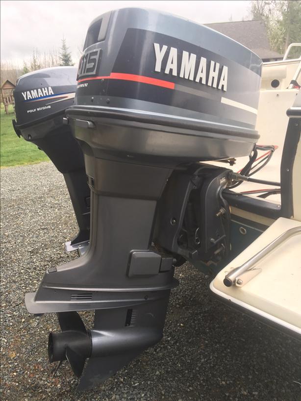 Yamaha 115 2-stroke outboard Outside Victoria, Victoria