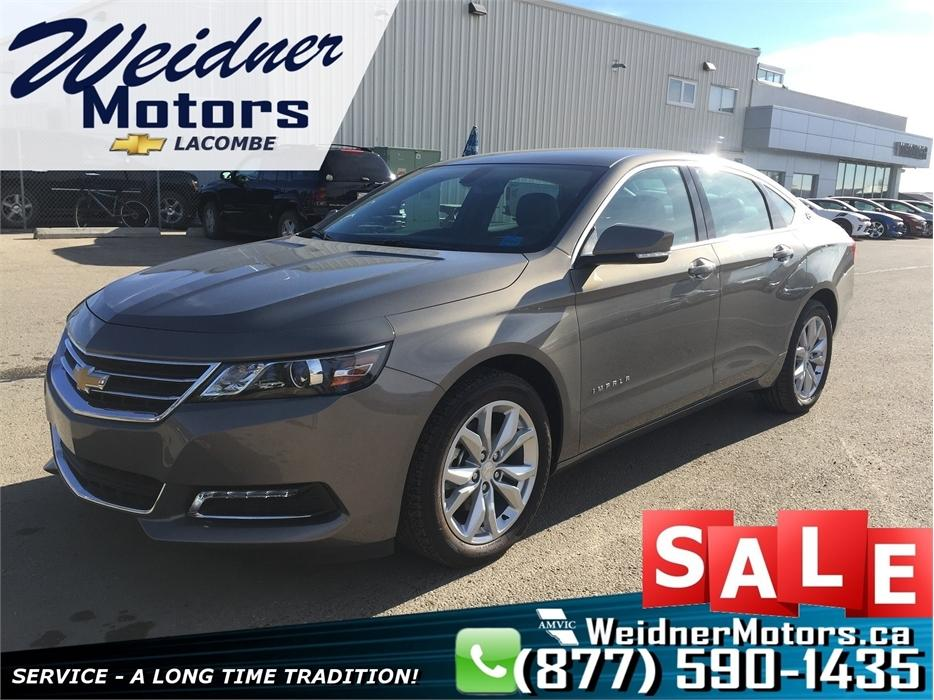 2018 Chevrolet Impala V6 Convenience Leather Pkg *Remote Start* Lacombe area, Red Deer