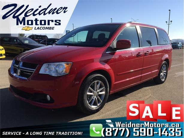 2015 Dodge Grand Caravan SXT *Navi, DVD, Stow & Go, Bluetooth*