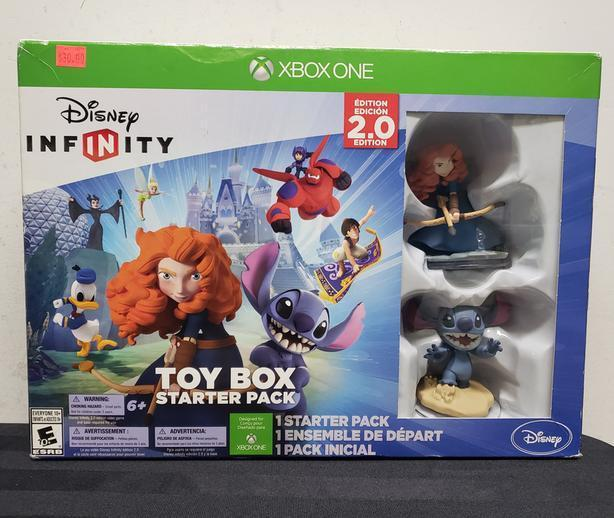 Xbox One Disney Infinity 2.0 Toy Box Starter Pack