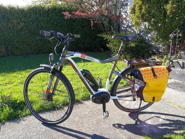 HAI Trekking 9 0s Xduro Electric Bike XL Frame 45 kph Bosch