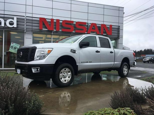 2017 Nissan Titan XD S One Owner, GAS, 6.5 ft box