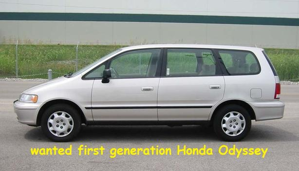 WANTED: WANTED: 1995-98 Honda Odyssey Van