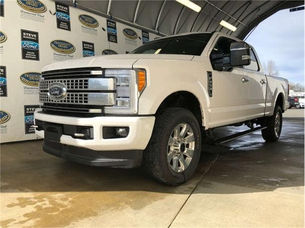 2018 Ford F-350 Super Duty SRW PLATINUM