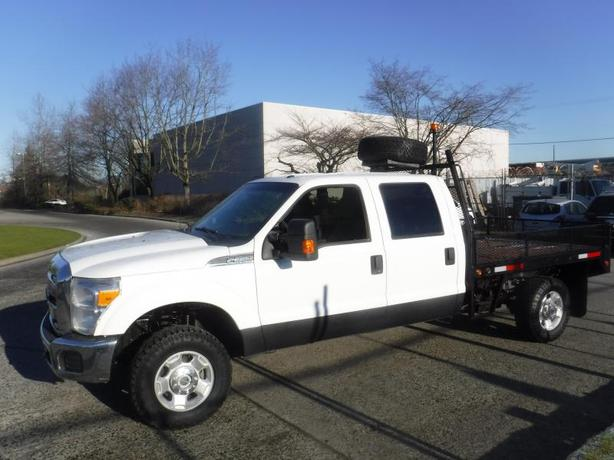 2012 Ford F-350 SD Crew Cab 8 Foot Flat Deck 4WD
