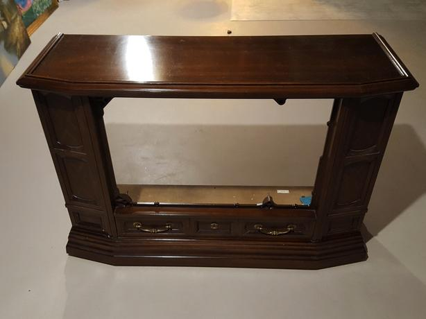 DEILCRAFT ROLLING WOOD CABINET - on hold - do not contact!