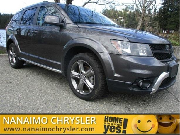 2017 Dodge Journey Crossroad No Accidents 3rd Row Seating