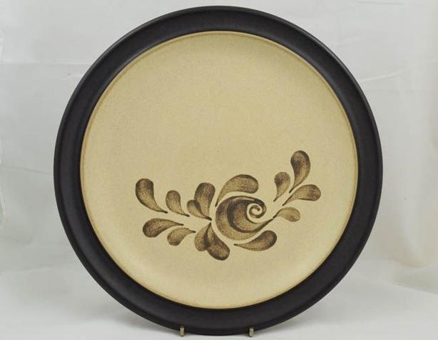 Denby stoneware Round Platter/Chop Plate Bakewell pattern - 6 available