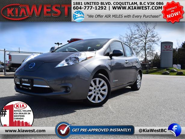 2016 Nissan Leaf S - FULLY ELECTRIC!
