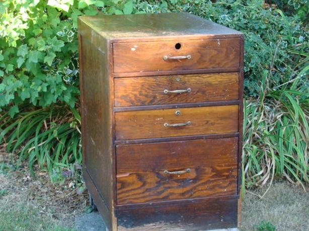 Antique Craft Man's Cabinet