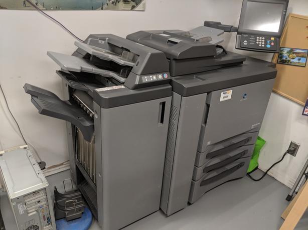  Log In needed $239 · Printer - Konica Minolta Bizhub Pro 950