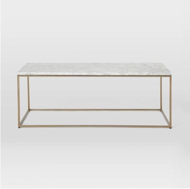 Fine Log In Needed 630 Gorgeous West Elm Brass And Marble Coffee Table New Caraccident5 Cool Chair Designs And Ideas Caraccident5Info